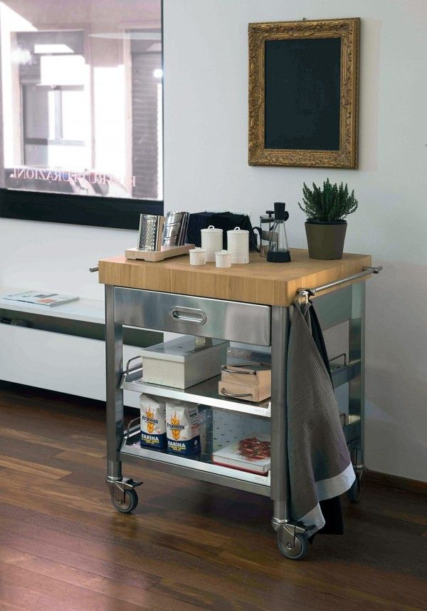 Alpes carrelli cucina | Studio Life | Kitchen Cart, Home Decor e Kitchen