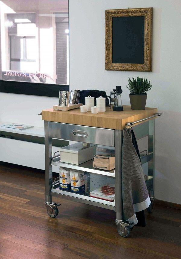 Alpes carrelli cucina cocinas pinterest for Ikea carrello cucina