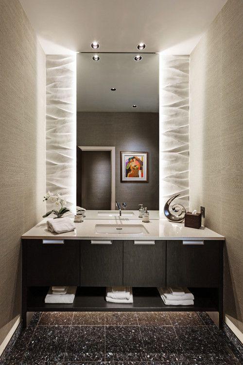 Creative Applications For Led Strip Lights Abode Wc Deckel Badezimmer Beige Badezimmer Holz