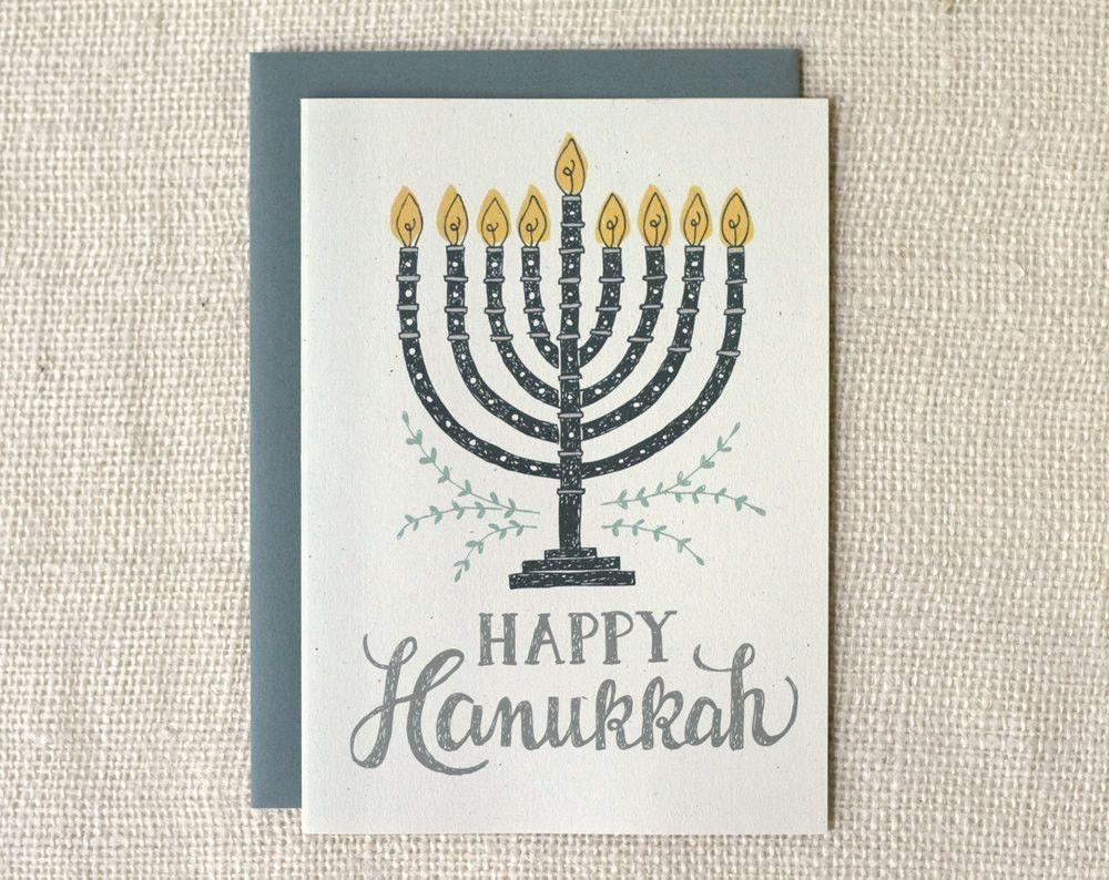 Happy Hanukkah Card Pinterest Envelopes Hanukkah And Hanukkah Cards