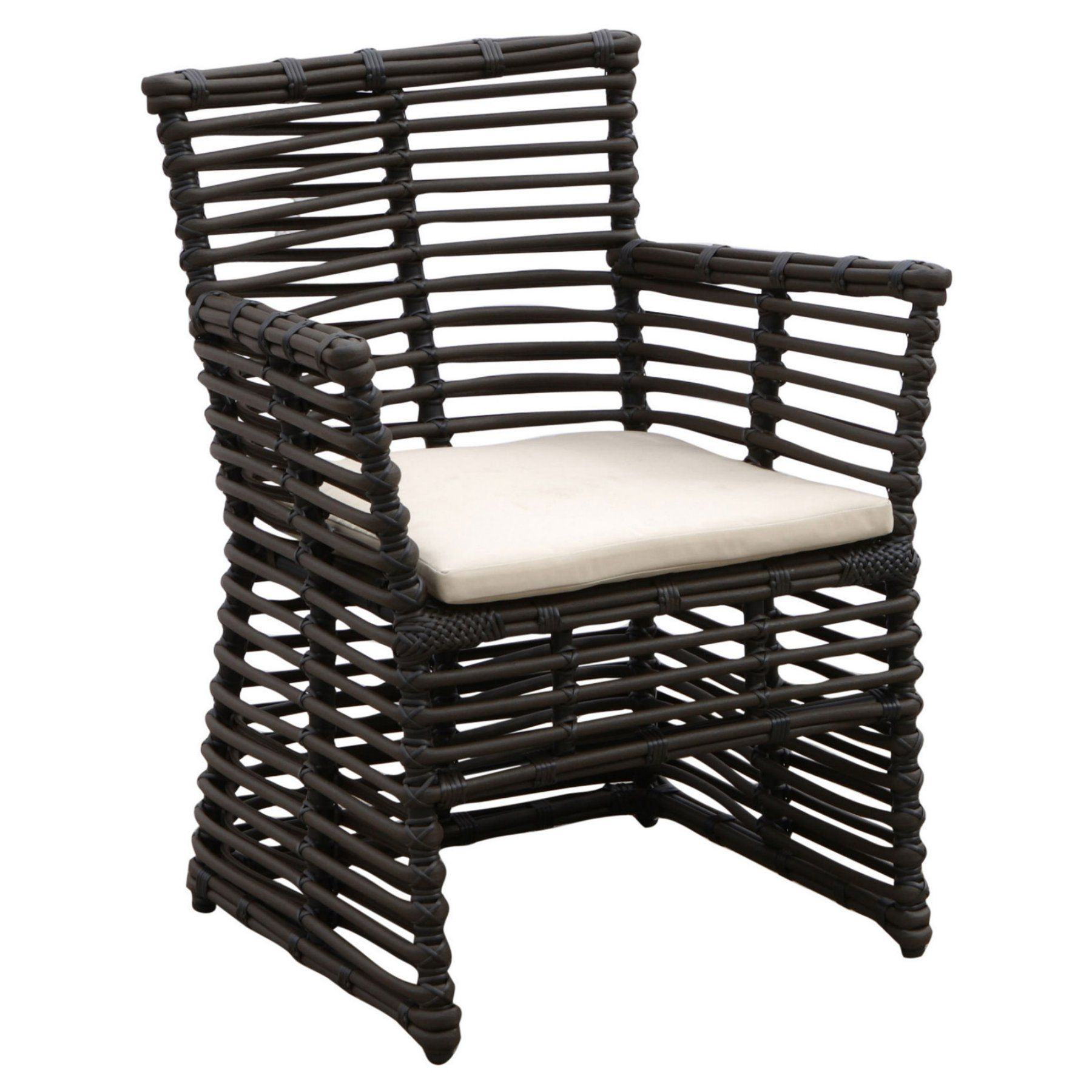 Outdoor Sunset West Venice Aluminum Patio Dining Chair With Cushion    1089 1 5422