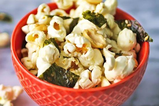 Sesame and Nori Popcorn : tastykitchen.com