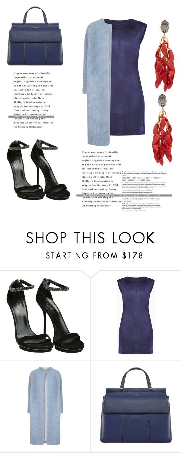 """""""Untitled #108"""" by ritaaalourenco ❤ liked on Polyvore featuring Gucci, BCBGMAXAZRIA, Tory Burch and Marni"""