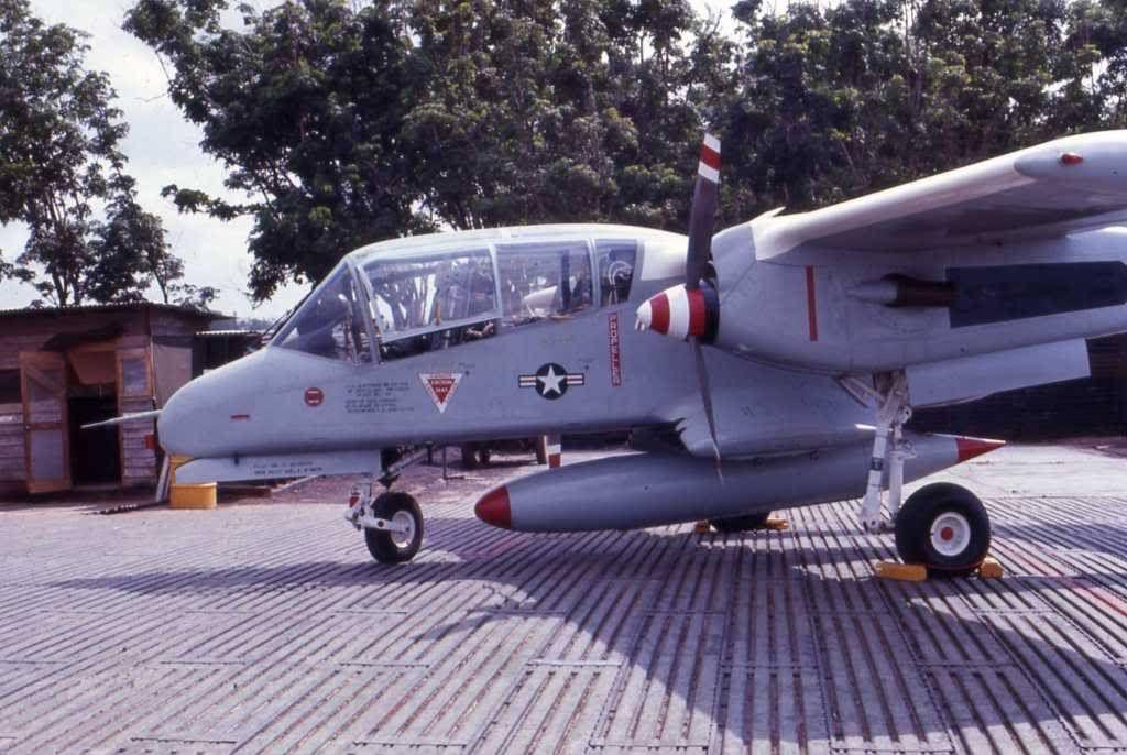 USAF North American Rockwell OV10 Bronco Vietnam war