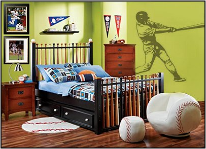 Boys Sports Bedroom Decorkey Interiors By Shinay  Teen