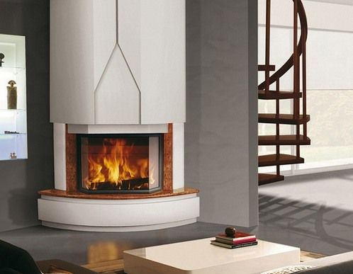 6000 modern gas fireplace heat n glo light my fire Contemporary wood burning fireplace inserts