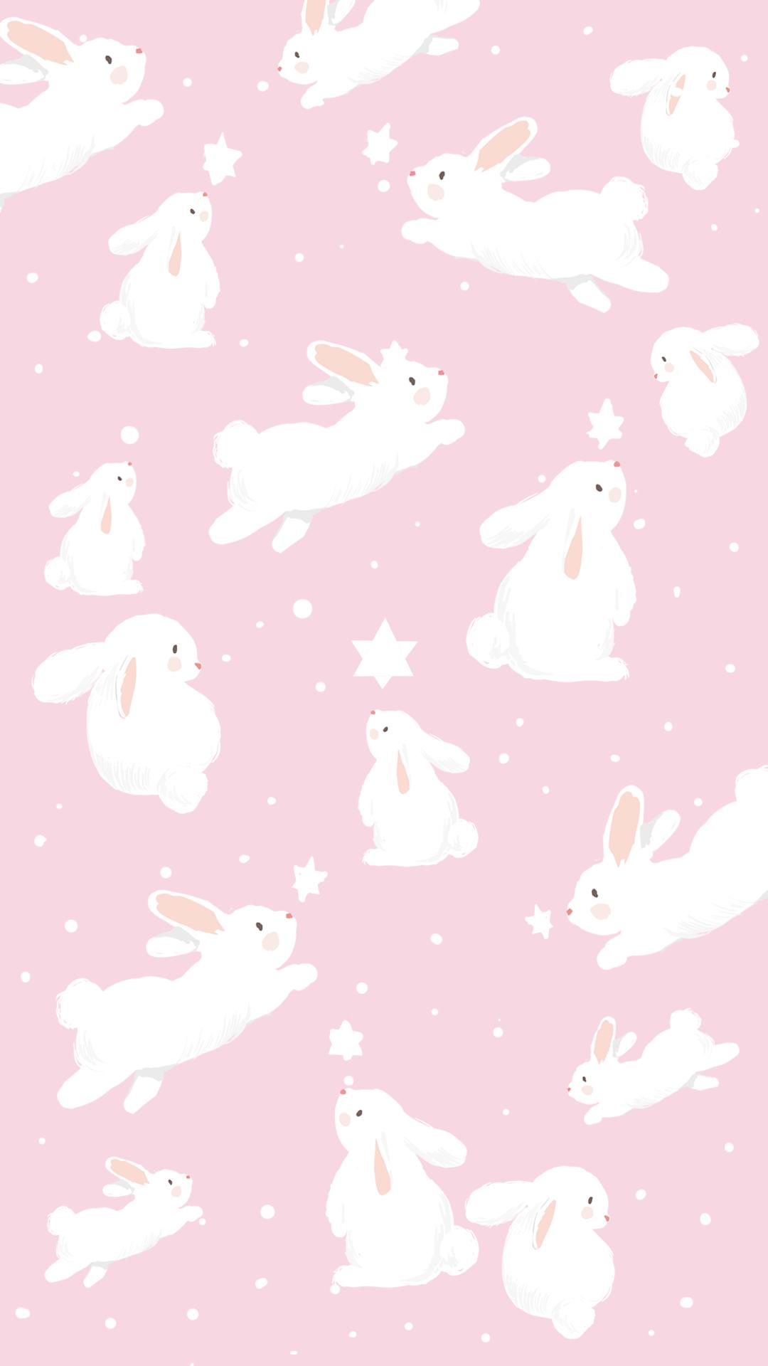 Wallpaper Coelhinho Da Pascoa Rosa By Gocase Pascoa Easter Coelho Cenoura Rabbit Blue Estrelas Cute Bunny Wallpaper Easter Wallpaper Rabbit Wallpaper