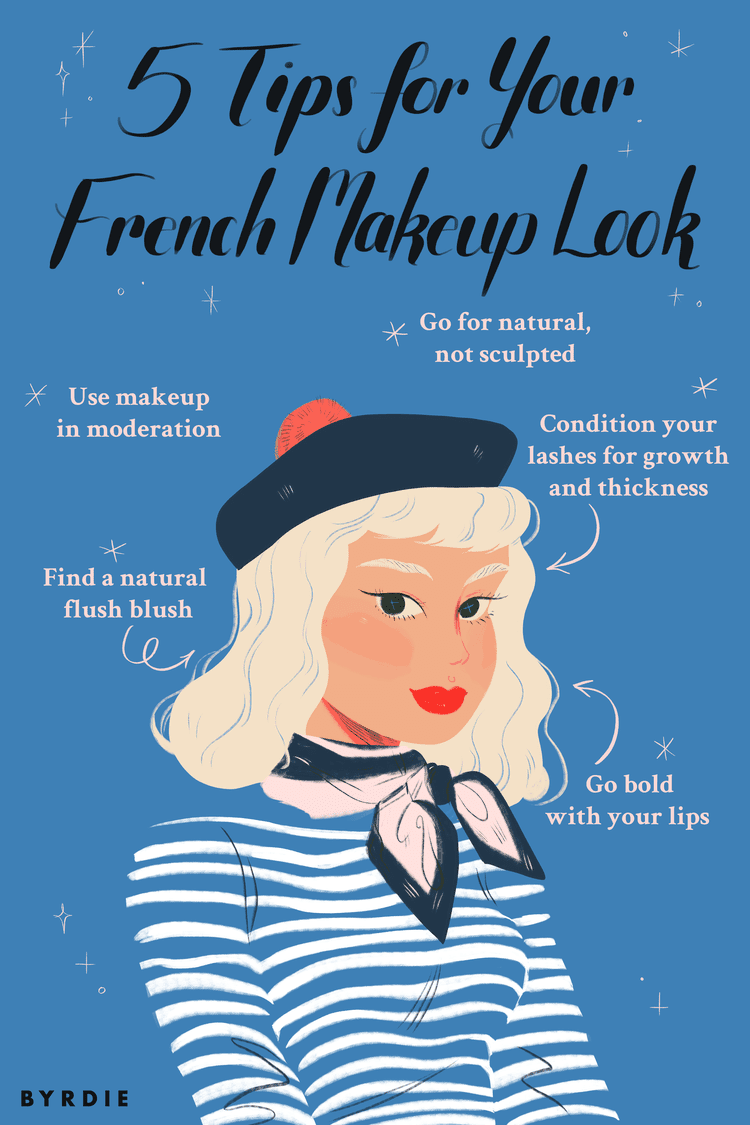 6 French Makeup Tips As Told By A French Artist French Makeup Parisian Style Makeup Parisian Makeup