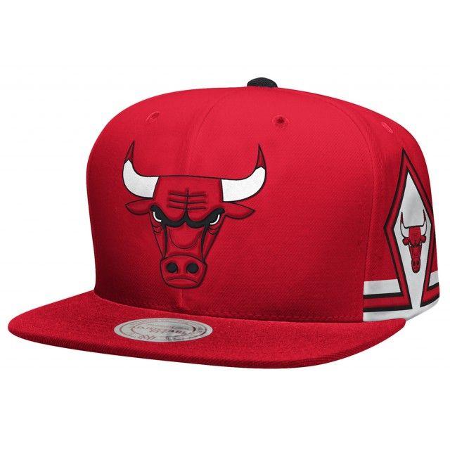 Deep Red Six Snapback Chicago Bulls