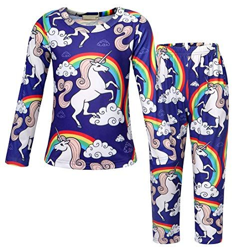86517d9a5 Very pretty little girls unicorn pajama set. MORE different colors and  size+++