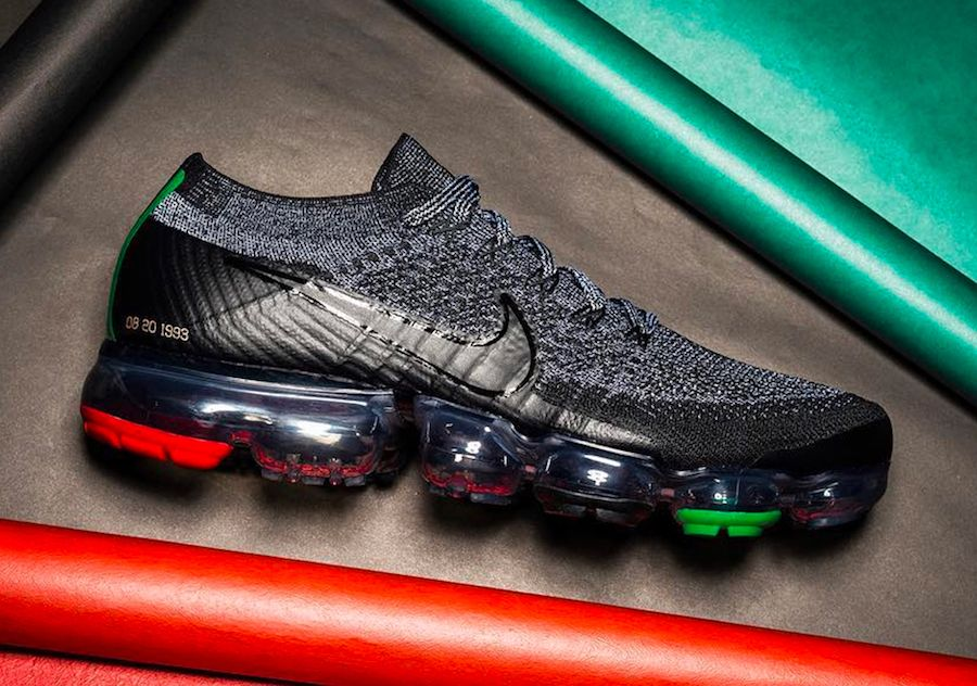 187895fe61b More Images Of The Nike Air VaporMax BHM + Pricing Info. Nike VaporMax BHM  AQ0924-007 New ...