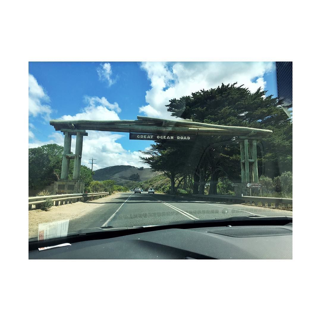 Welcome to my weekend  #roadtrip #vacay #getaway #melbourne #greatoceanroad #apollobay #sunny #beach #memories #makingmemories #justthetwoofus #life #peaceful #peaceandquiet #loveourtimeaway #xoxo #blessed #luckiestwomanintheworld #weekend #weekendadventures by _melissa.neuk http://ift.tt/1LQi8GE