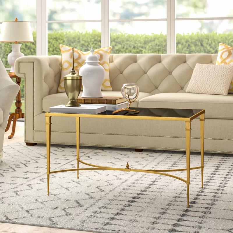 glam living room design photowayfair  coffee table