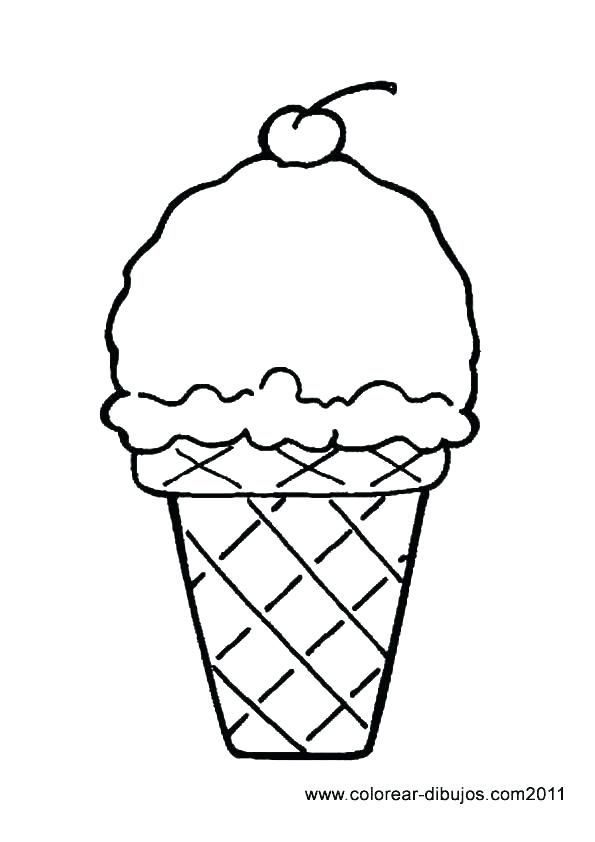 Ice Cream Cone Coloring Page Free Printable Ice Cream Coloring Pages For Kids Ice Cream Con Ice Cream Coloring Pages Ice Cream Cone Drawing Free Coloring Pages