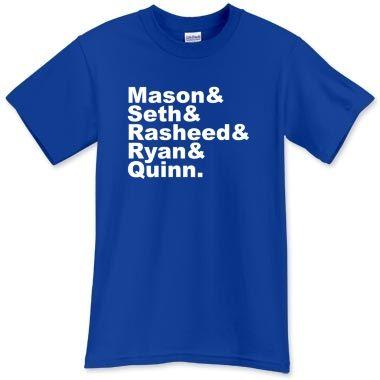 Duke Hoops T-Shirt - firstnametees.com