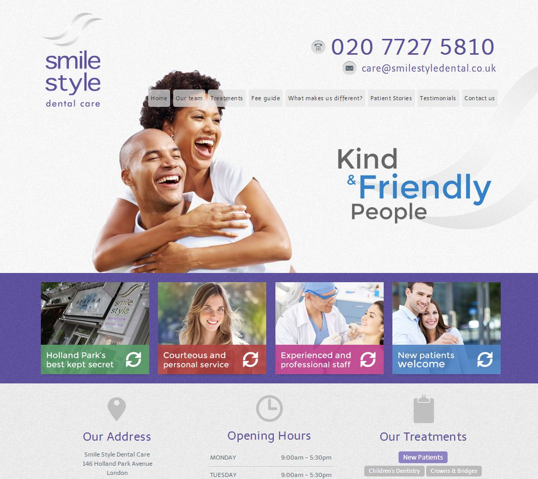 Pin by Dental Design Products Ltd on Dental Website Design