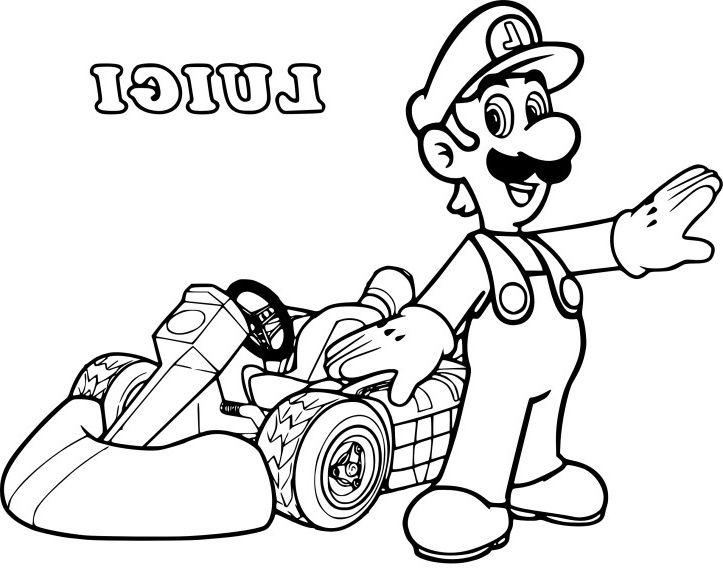 15 Unique De Dessin Mario Kart 8 Collection - Coloriage ...