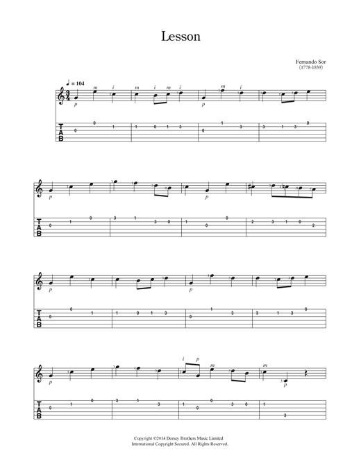 partition guitare classique pdf