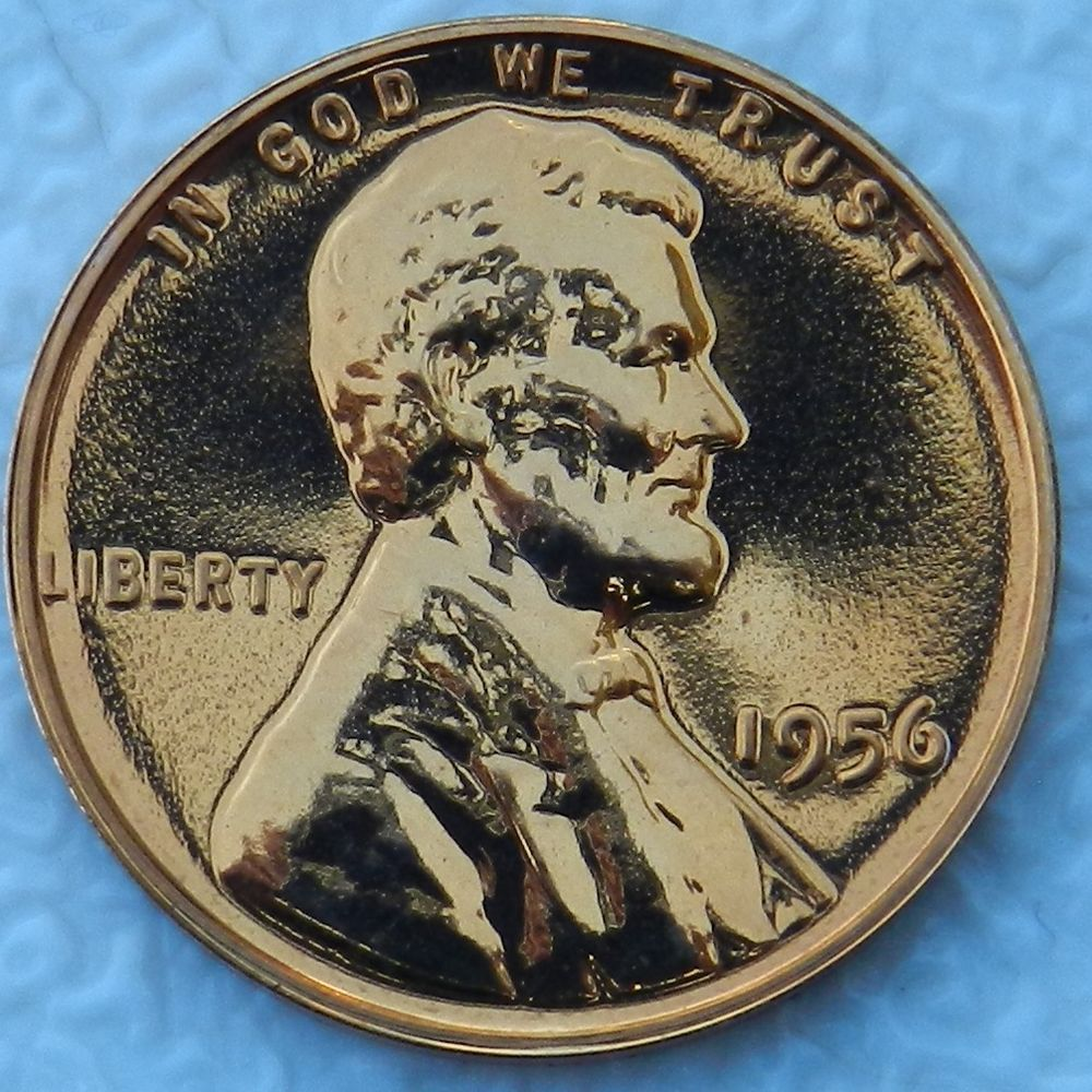 1956 1C DC (Proof) Lincoln Cent (Proof) 4.49 + 1.95