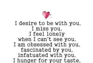 Love Quotes : i desire ti be with you / love quotes poem ...