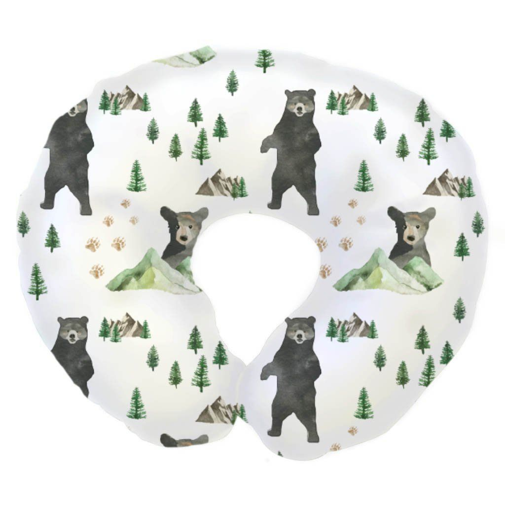 Bear and Trees Boppy Pillow Cover