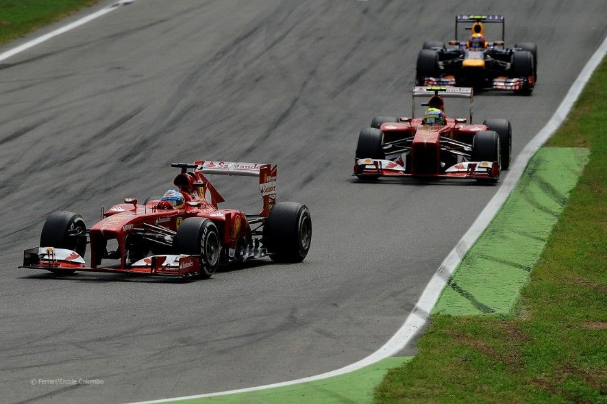 Fernando Alonso, Ferrari, Monza, 2013   Monza, Italian ...