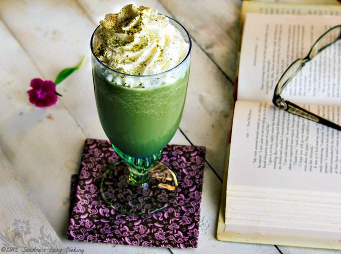 #DrinkRecipe - Green tea Frappuccino