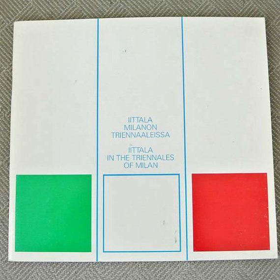 Iittala Milanon triennaaleissa = Iittala in the Triennales of Milan : naayttely Iittalan lasimuseossa 10.4.1987-31.12.1987 *SALE