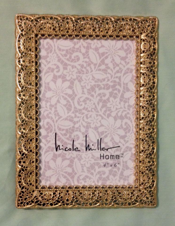 Nicole Miller 4x6 picture frame $7.99 Marshalls. | Frames/WallArt ...