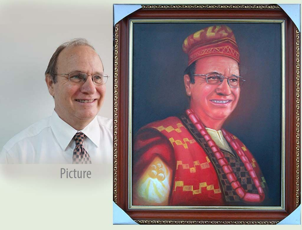 portrait painting by ayeola ayodeji abiodun awizzy http://www.awizzy.net