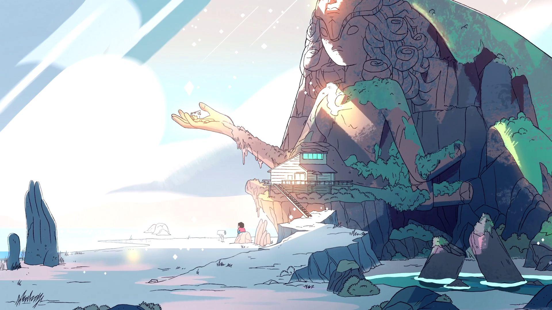 Steven Universe wallpaper Wallpapers paisagens, Steven