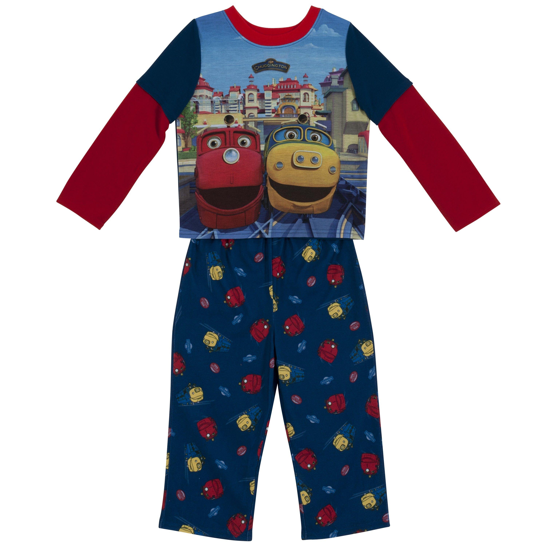 Chuggington boys 2piece pajamas from tys toy box