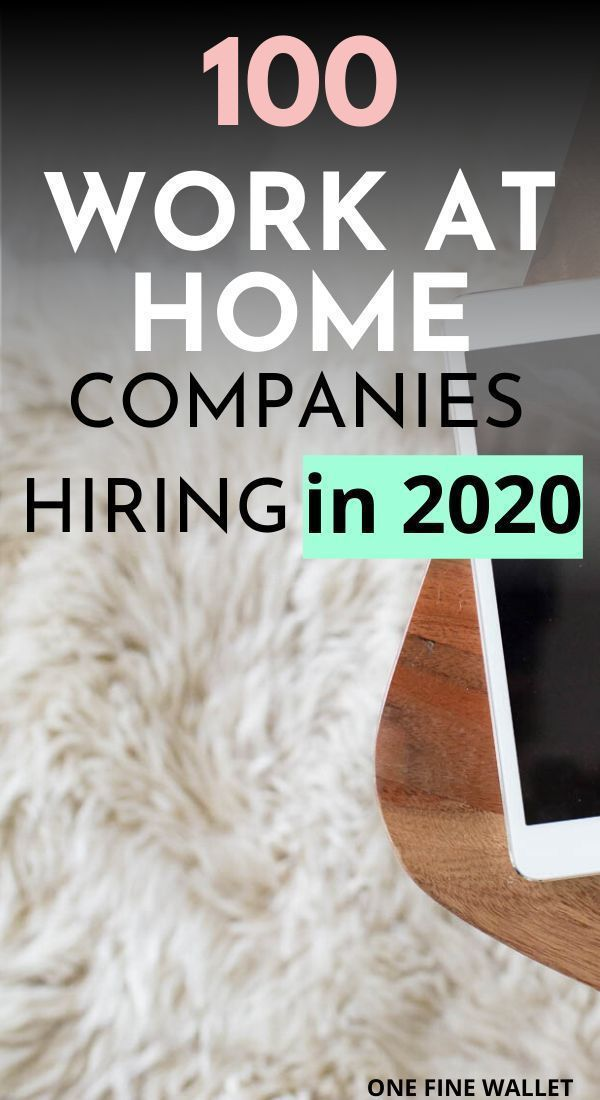 100+ Legit Work from Home Jobs – Apply Here {2020