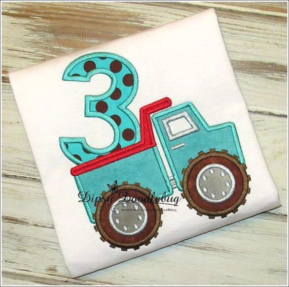Boys Construction Tonka Truck Birthday Shirt - Personalization Available- Birthday Shirt