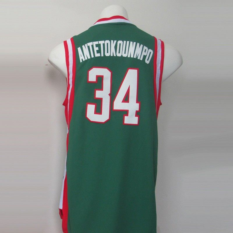 42c23c5b6cbe Aliexpress.com   Buy Milwaukee 34 Giannis Antetokounmpo Basketball Jersey