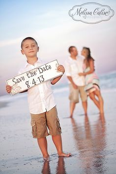 Save The Date Ideas With Child Google Search Save The Date Photos Save The Date Pictures Beach Engagement Photos