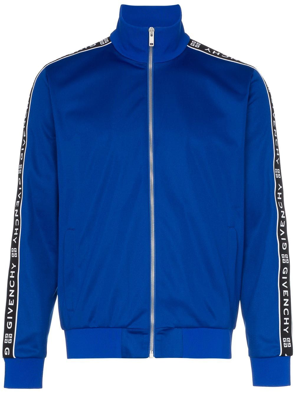 13f550eb0 GIVENCHY GIVENCHY LOGO STRIPE TRACK JACKET - BLUE.  givenchy  cloth ...
