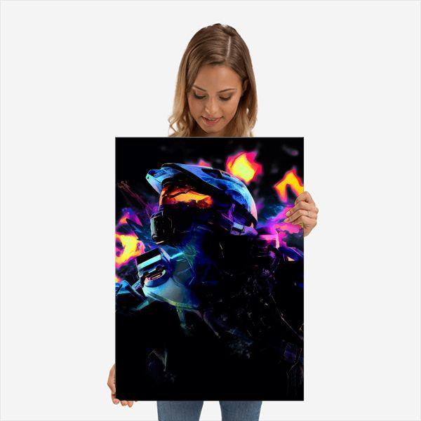 Neon Chief | Displate thumbnail