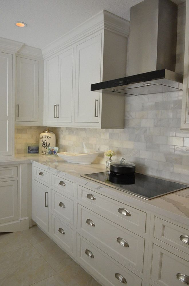 Backsplash Honed Marble Subway Tile Kitchens Heart Of The Home