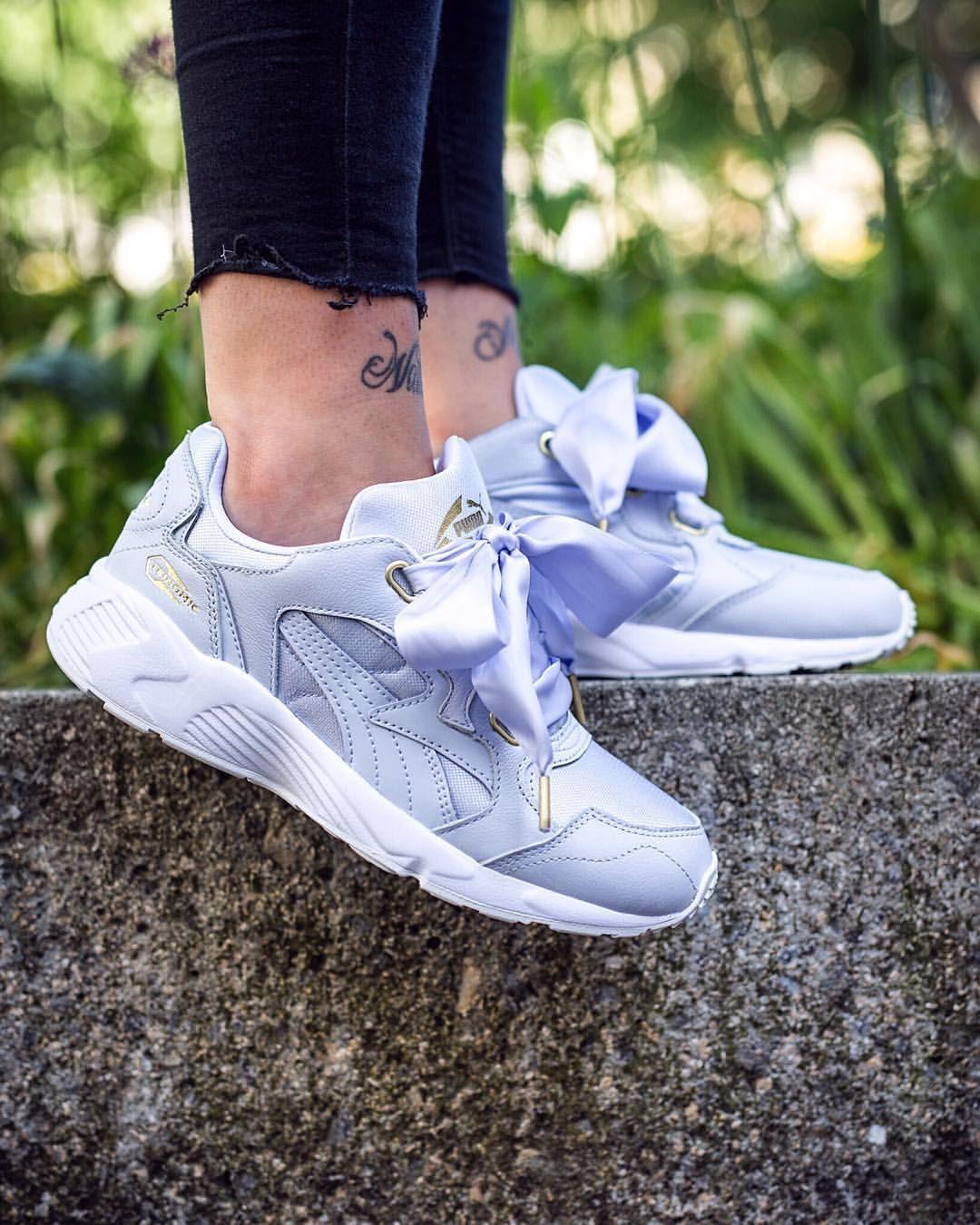 46dc2399ad Puma Prevail Heart: Halogen Blue | sneakers | Sneakers, Sneaker ...