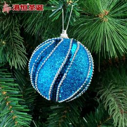 2016 Luxury Christmas Ornaments Christmas Ornaments 8 Cm Blue Bubble Stick Act The Role Of Luxury Christmas Ball 18 G Styrofoam Balls Ornamen Christmas Ornaments