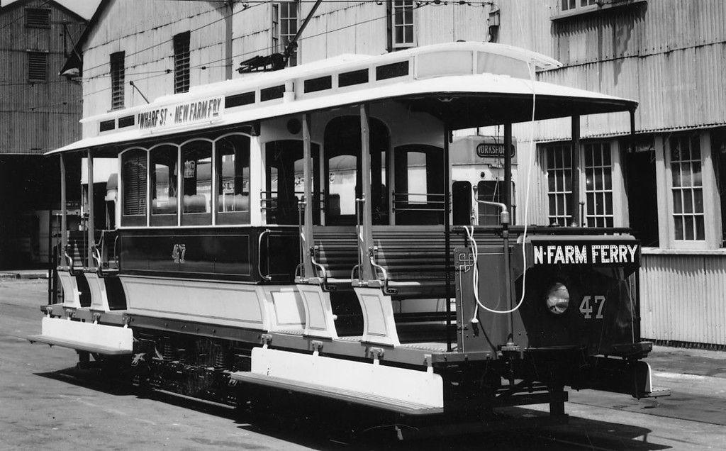 Brisbane Trolley Car, Brisbane Tramway Museum, Australia