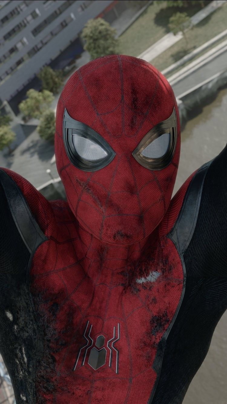 Spider Man Far From Home Screencaps : spider, screencaps, SPIDER-MAN, Ideas, Spiderman,, Spider,