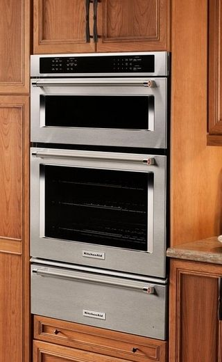Koce507ess Kitchenaid 27 Combination Wall Oven With Even Heat