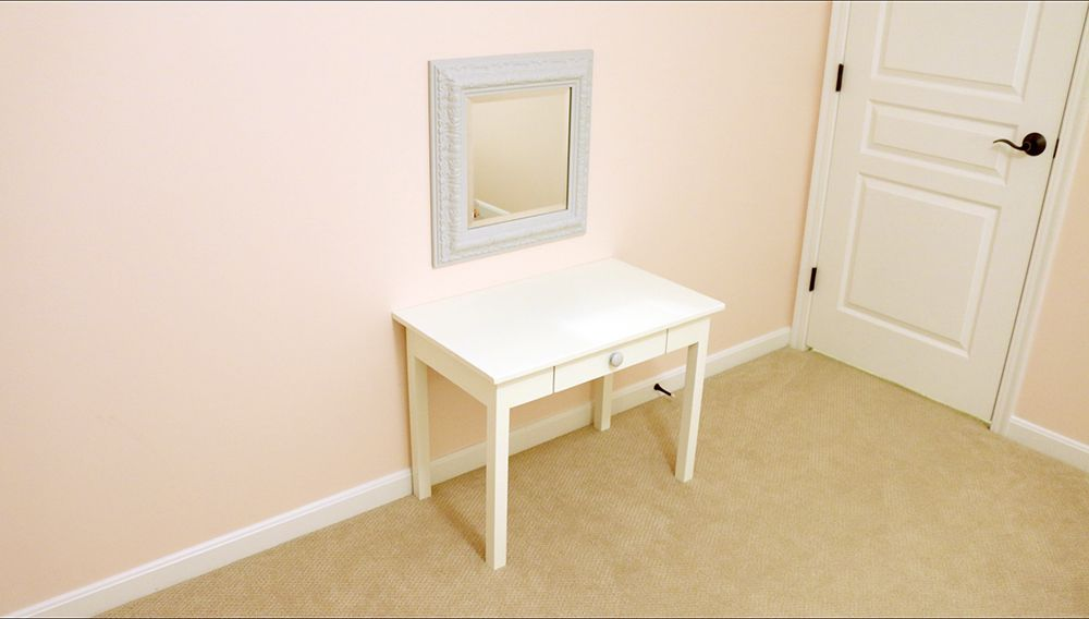 DIY Vanity for my Girls Shared Bedroom - DIYwithRick
