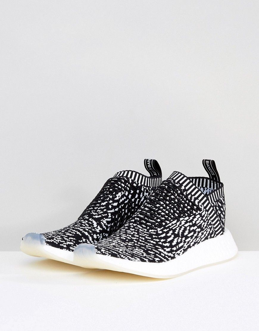 e7045bd3b1c8 adidas Originals NMD CS2 Primeknit Sneakers In Black BY3012 - Black ...