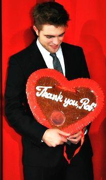 Robert Pattinson during Breaking Dawn 1 promotion