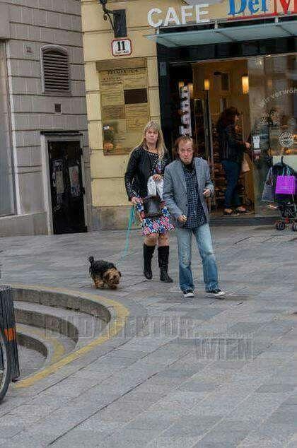 Angus Und Ellen 2016 In Wien Acdc Bon Scott Angus Young