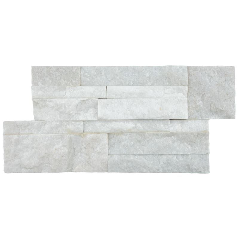 Affinity Tile Lpnb In 2020 Natural Stone Wall White Quartzite White Paneling