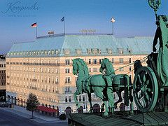Beautiful hotel, Hotel Adlon, Berlin, Germany Where everything began worked there from 2006-2010